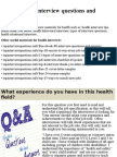 Top 10 health interview questions and answers.pptx