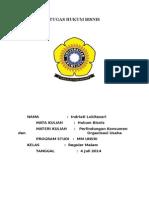 Tugas Hukum Bisnis 04 Juli 2014