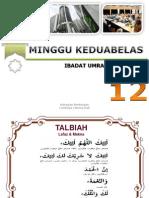 Thminggu 12 - Umrah