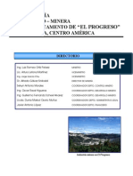 2. Monografia Geologico Minera El Progreso 2001