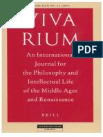 Vivarium - Vol Xlvii, Nos. 2-3, 2009