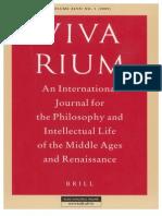 Vivarium - Vol Xlvii, No. 1, 2009