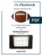 Flag Football Rules Quarterback Ball Games
