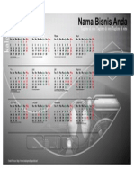 Kalender 2015 Indonesia - Design_01_Accent Box