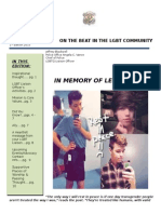 LGBT Newsletter for Leelah