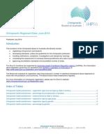 Chiropractic Board Statistics Chiropractic Registrant Data June 2014