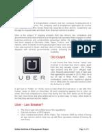 Uber Case