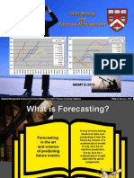 Mgmt E-5070 Student Slides Forecasting Overview