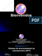 presentacion de analisis y diseño