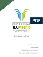 Evidencia Final psicologia positiva tecmilenio