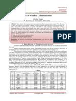 4G of Wireless Communication