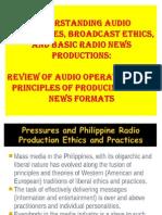 Basic Principles of Creating a Radio News Production