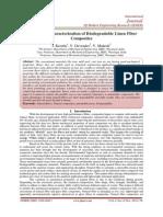 Mechanical Characterization of Biodegradable Linen Fiber Composites