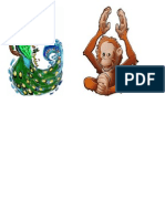 Orangutan Dan Merak