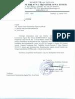 Surat Pengaktifan Data NUPTK