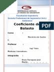 Coeficiente Balasto