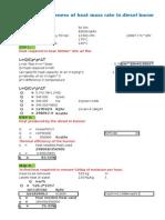 FD Fan Efficiency Calculation