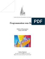 programmation delphi
