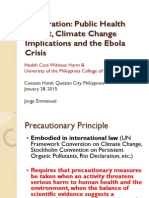 Incineration Public Health Impact, Climate Change Implications, and the  Ebola Crisis