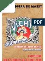 Catalogue expo Musée Opéra de Vichy