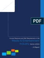 Media-Entertainment NSDC Report (2022)