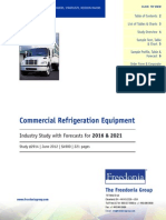 Commercial Refrigeration Industry Study With Forecast 2016 - 2021