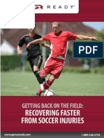 Recovering Faster From Soccer Injuries eBook