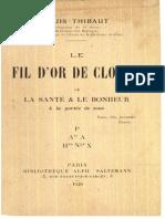 L. Thibaut - Le Fil d'or de Clotho
