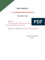 Drept Comercial I- Tematica Si Bibliografia Aferente Cursului Nr. 7