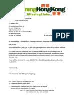 kennedy road - response to hyd cc td  cedd - 27 jan 2015