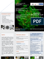 Triptico Genetica Biologia Celular