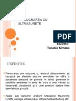 Prelucrarea Cu Ultrasunete PDF