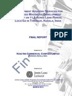 Final (Draft) Report