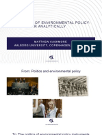 The Politics of Environmental Policy