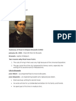 Life of Jose Rizal in Belgium :]]