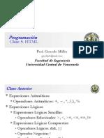 Clase Programación 5
