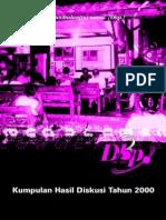 Buku Kumpulan Diskusi 2000 Dbp