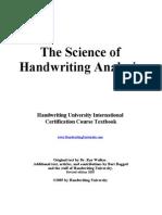 Ray_Walker - The Science of Handwriting Analysis