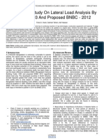 Comparative Study on Lateral Load Analysis by Bnbc 1993 and Proposed Bnbc 2012