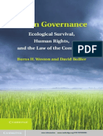 Green Governance  Ecological Survival.Human Rights.and the Law of the Commons - Burns H. Weston  and  David Bollier (2013).pdf