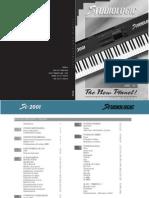 Fatar Sl 2001 Manual