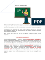 Metodologias de Ensino de Língua Inglesa