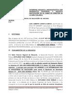 2.- Denuncia Administrativa