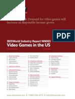 IBISWorld Video Games Industry Report