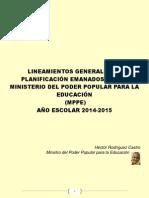 ORIENTACIONES+PEDAGÓGICAS+PRIMARIA+2014-2015
