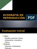Ecografia en Reproducción