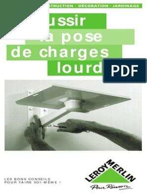 La Pose De Charges Lourdes Vis De Fixation Perceuse