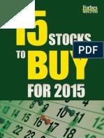2015 Stocks to Buy