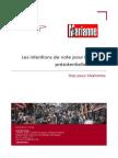 Sondage Ifop pour Marianne