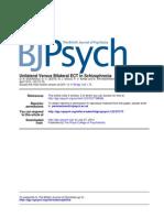 Unilateral Versus Bilateral Ect Ini Schizophrenia